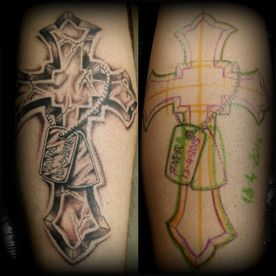 TATTOO,TATOEAGE,HANDS FREE,BLACK AND GREY,KRUIS,CROSS,RELIGIEUS, RELIGIOUS